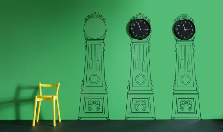 Tick Tock Mortorp Wall Decals Give A New Take On The