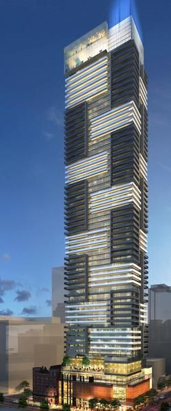 YC Condos, Toronto 2014. I saw these a under construction a couple months ago. Amazing - Alex