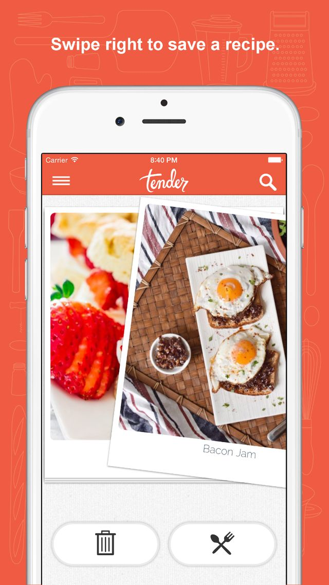 Tender App - Tinder for Food Is Finally Here