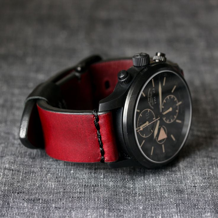 Worn Model 1 Horween Watch Straps