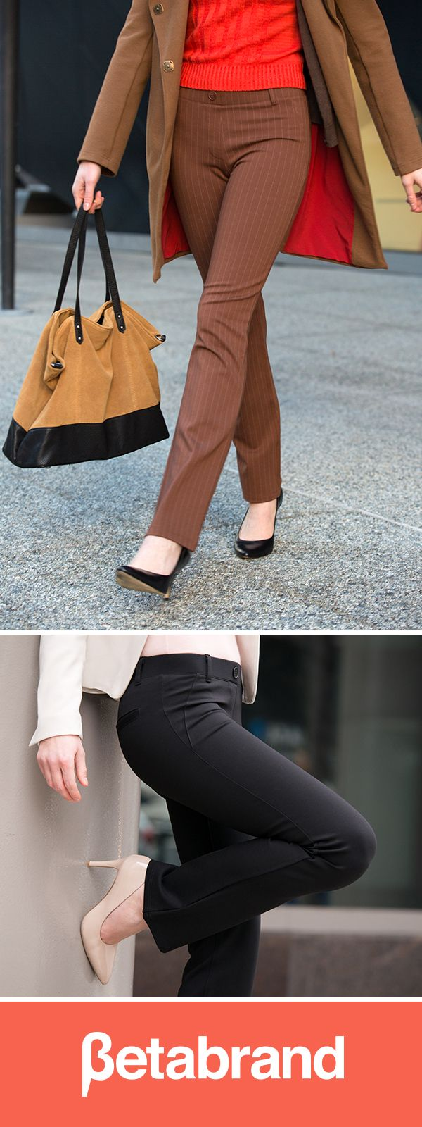 Yoga pants for the office? We don't think that's a stretch.