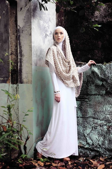NurZahra 2011 'Heritage Indigo Batik' Collection
