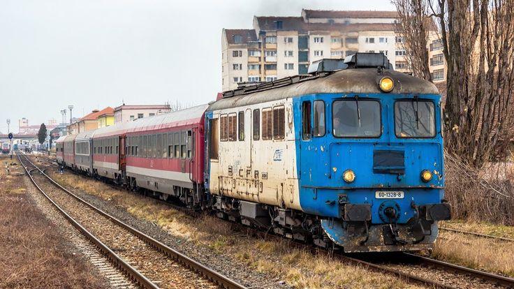 Trenuri in Sibiu (februarie 2014)