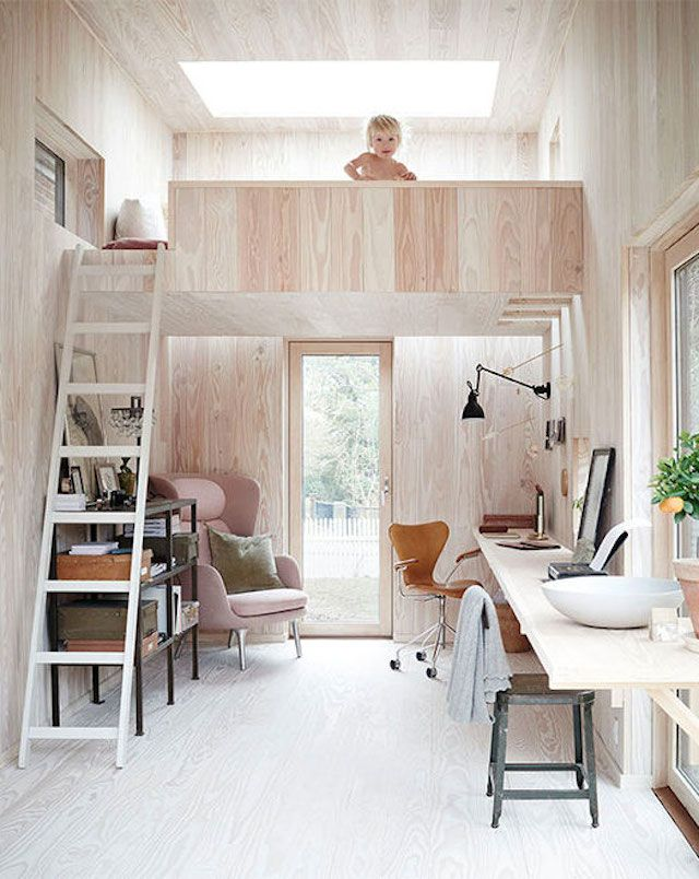 The fab 'wood' studio of Danish photogapher Ditte Isager (love how it combines with a guest house).