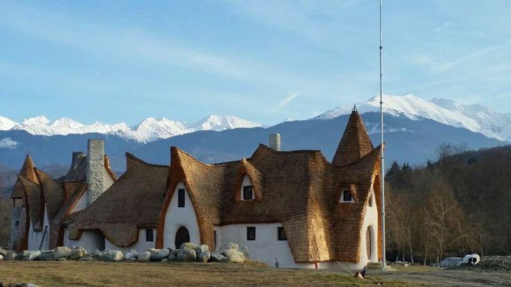 Castelul alba ca zapada Sibiu