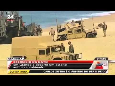 Насмешить весь мир! Или как корпус Морской пехоты США высадился в Португалии - YouTube
