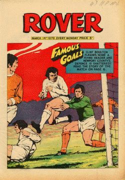Rover - Famous Goals cover.