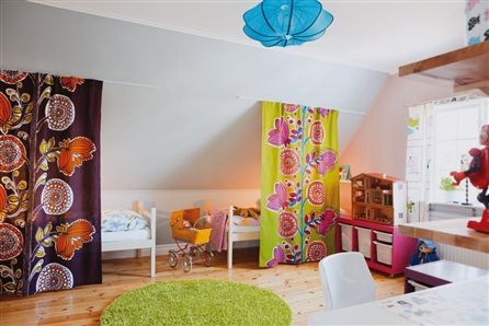Love the transformation of this kids room as the kids have grown.