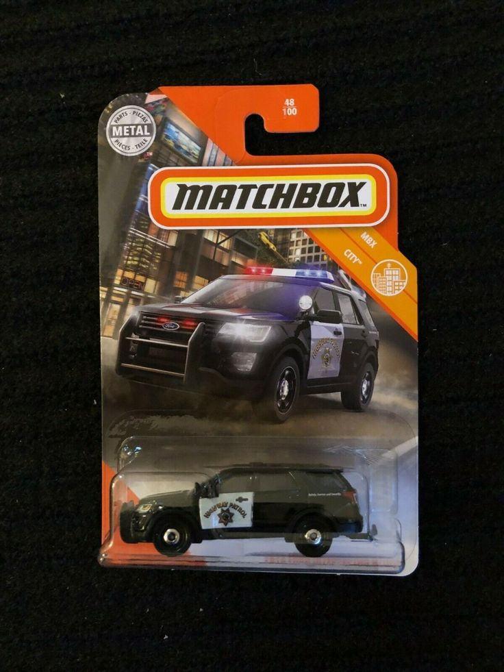 2020 Matchbox 48 MBX City 2016 Ford Police