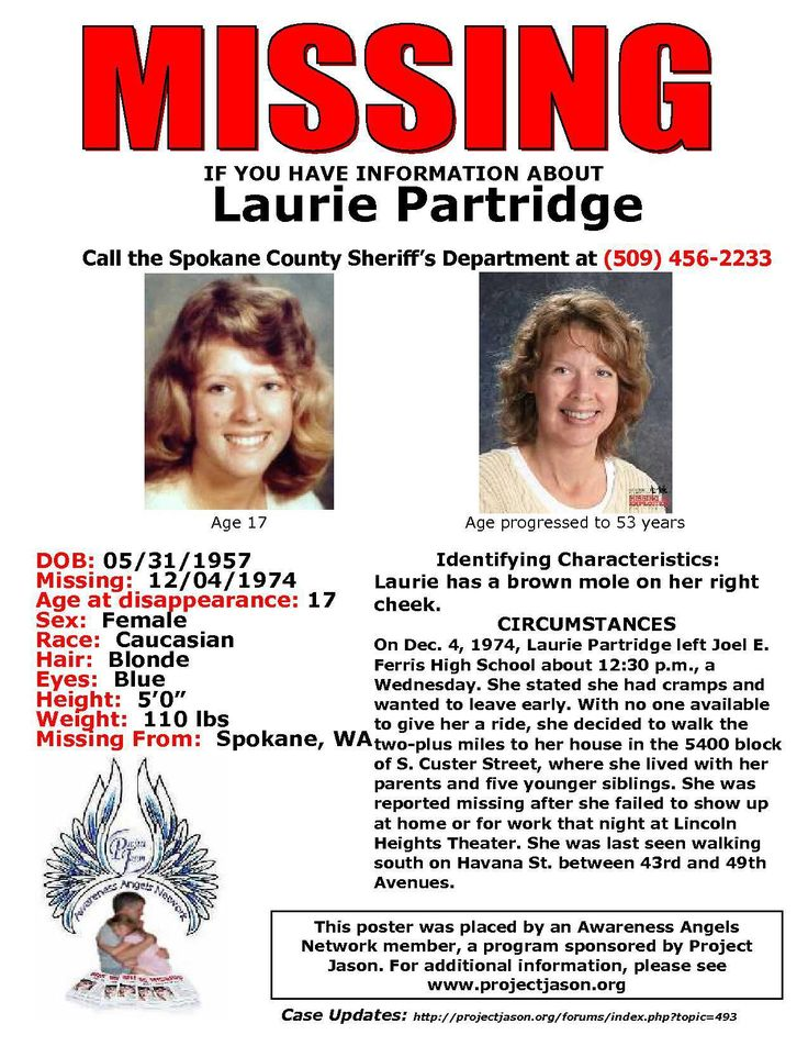 795 best Gone Missing \/ Criminal Activity \ Wanted Persons images - missing child poster template