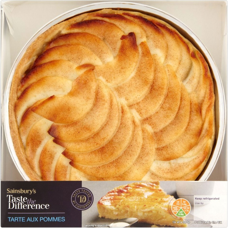 Sainsbury's Taste the Difference Tarte aux Pommes (470g)