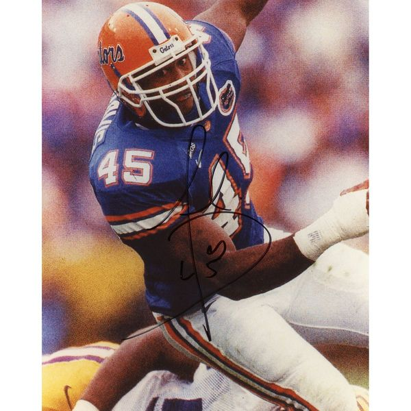 "Andra Davis Florida Gators Fanatics Authentic Autographed 8"" x 10"" vs. LSU Tigers Falling Photograph - $19.99"