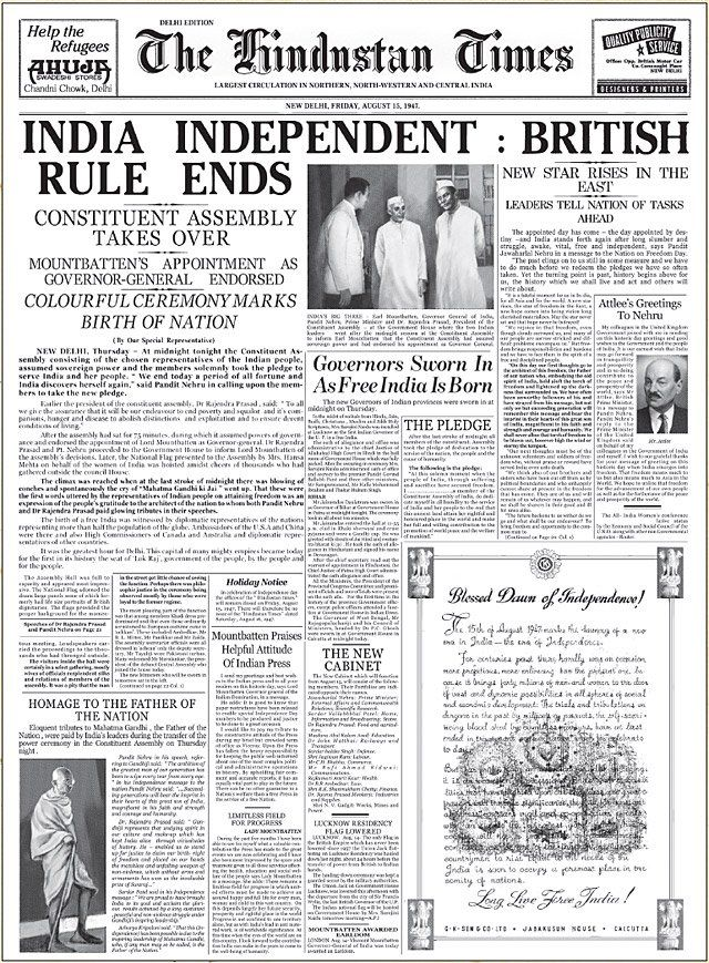 independence for india cutting the british empire India international centre  twentieth century was interpreted at the metropolitan heart of empire by examining its portrayal in the british media, focussing primarily on the british national press1 the organisation of official publicity under  indian independence, the british media and lord.