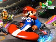 Free Online Racing Games, Mario is back in another Kart arcade racing adventure!  Help Mario collect coins for armor upgrades and major points!  Make sure you watch out for enemy shells!, #mario #racing #race #car #driving #luigi #princess #peach #bowser #kid #cartoon