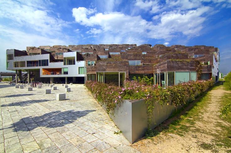 Mountain Dwellings designed by Bjarke Ingels