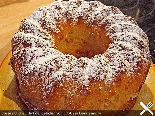 Apfel – Eierkuchen, ein leckeres Rezept aus der Kategorie Kuchen. Sein …   – Apfelkuchen
