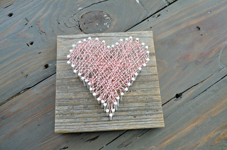 Easy DIY String Art | www.decorandthedog.net | #stringart #valentinesday