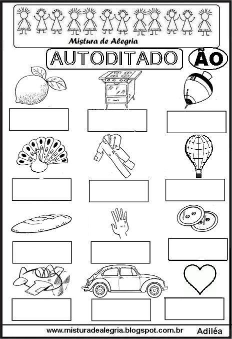 autoditado-%C3%83O-alfabetizacao-imprimir-colorir.JPG (464×677)
