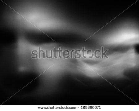 Human face in motion blur