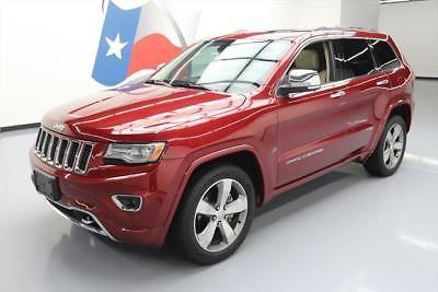 eBay: 2014 Jeep Grand Cherokee Overland Sport Utility 4-Door 2014 JEEP GRAND CHEROKEE OVERLAND SPORT PANO ROOF NAV #138021… #jeep #jeeplife