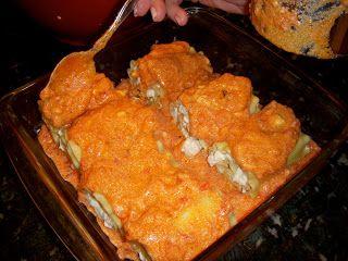 Giada's Shrimp Lasagna Rolls