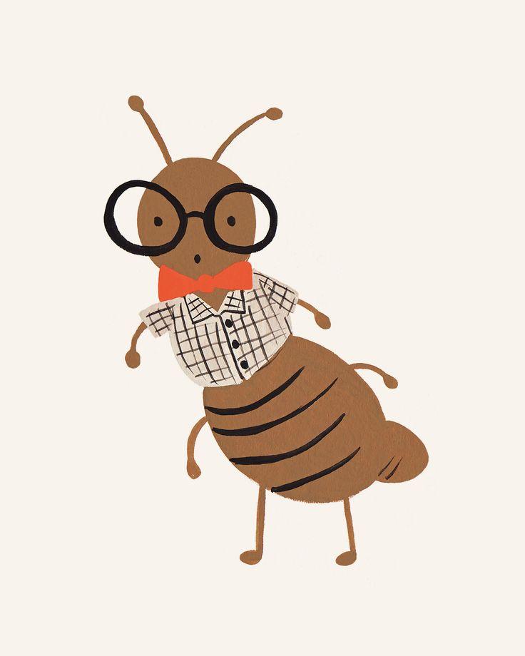 Bug Print- Ant