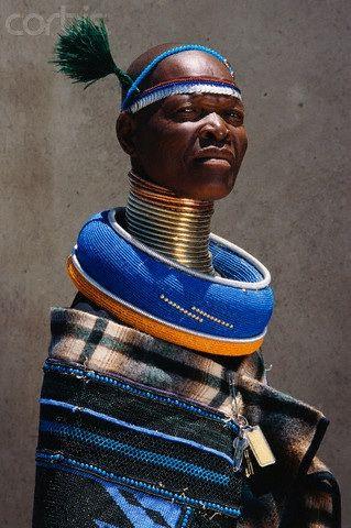 Ndebele neck rings