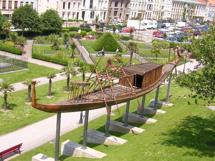 réplique de la barque de chéops