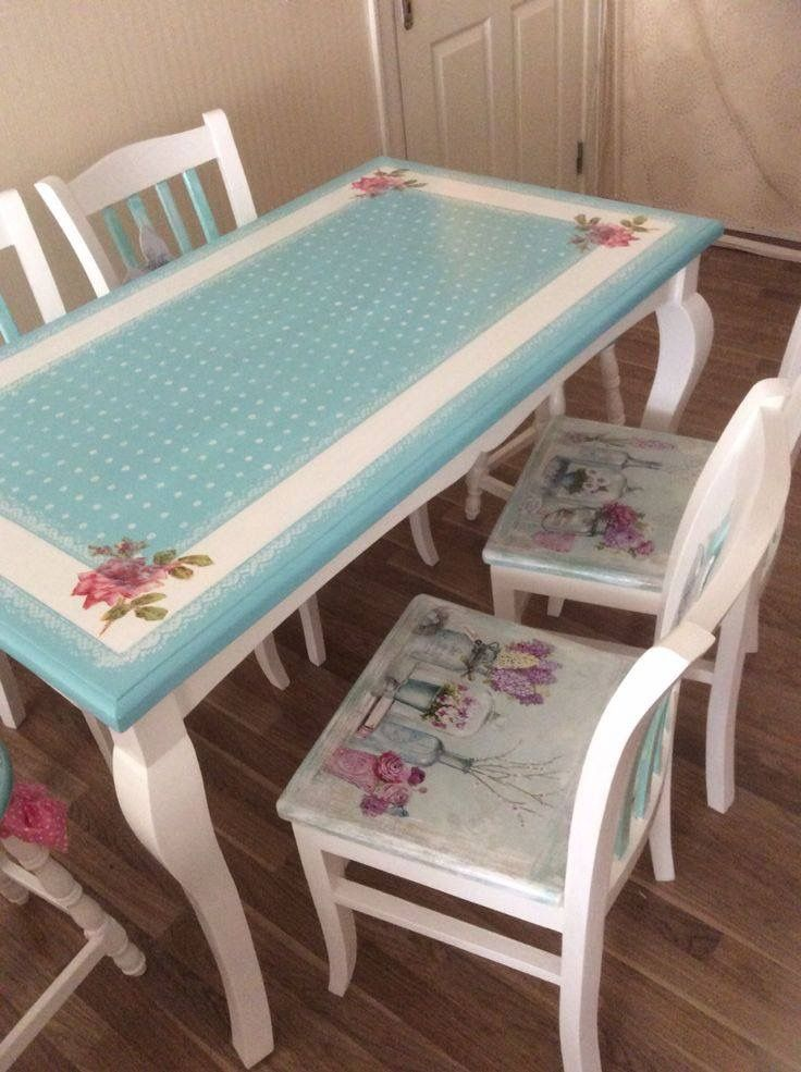 Decoupage Painted Furniture