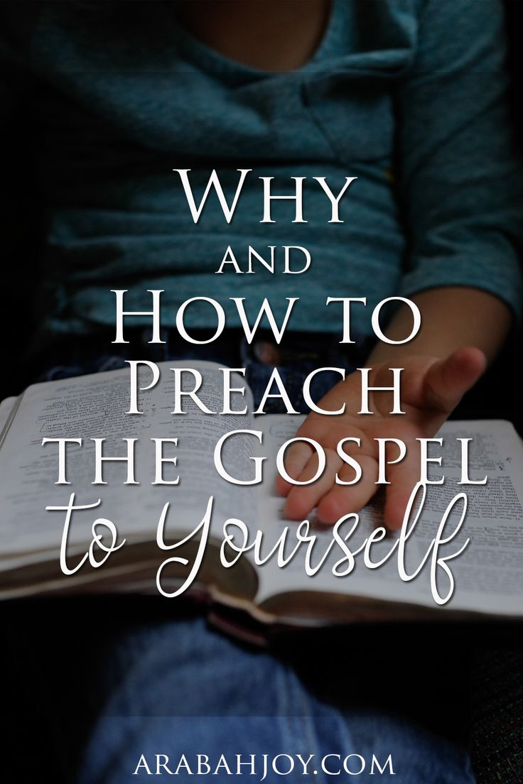 Preaching the gospel to ourselves means allowing our thinking, emotions, and responses to daily be shaped by the truth of the gospel. Join me in a series where I hope to give you practical help in preaching the gospel to yourself using key gospel concepts.