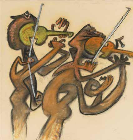 Roberto Matta. L´Estro Armonico, Opus 3 di Vivaldi, 1980