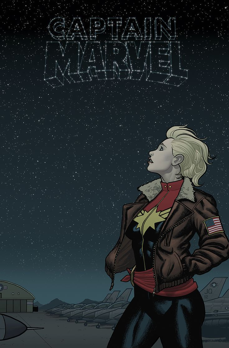 Captain Marvel - GROUNDED by quin-ones.deviantart.com on @deviantART