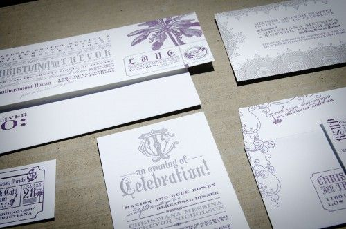 Rock and Roll invitations