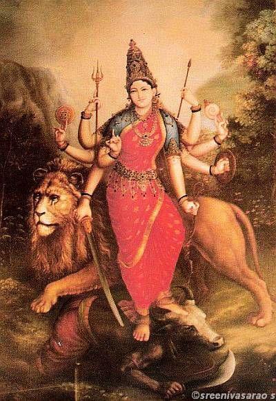 Sri Mahishasura mardhini by Shilpi Sri Siddalingaswamy of Mysore