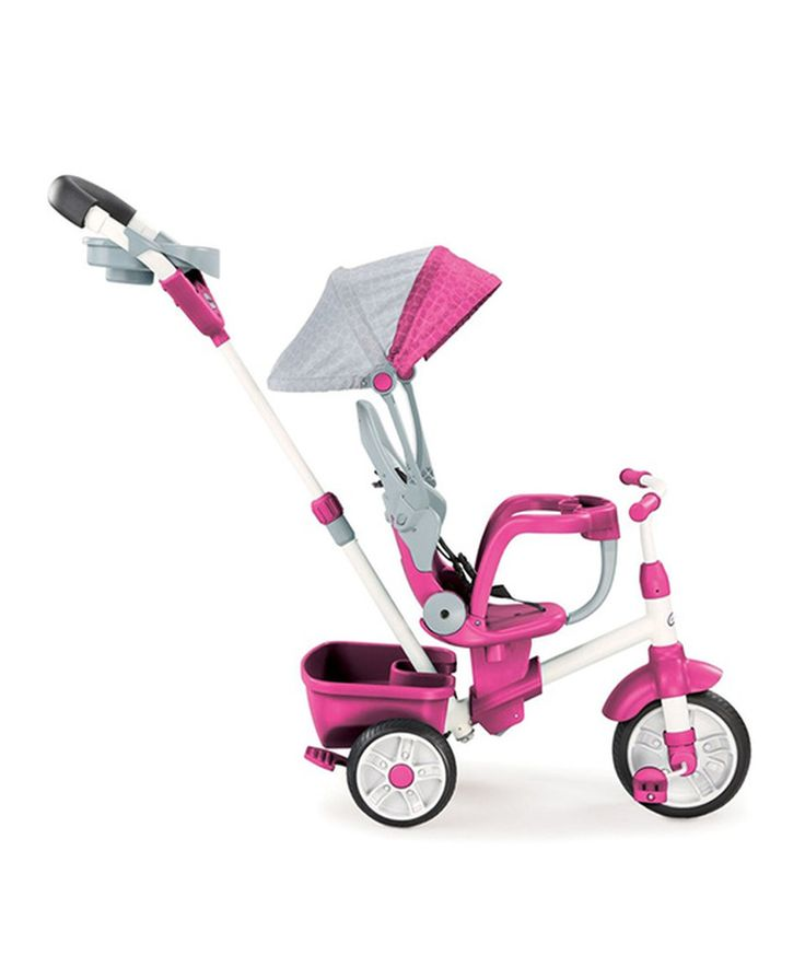 This Little Tikes Pink Perfect Fit 4-in-1 Trike by Little Tikes is perfect! #zulilyfinds