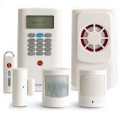 SimpliSafe Wirelss water, freeze, entry, motion, glassbreak, smoke and CO2 sensors and wireless panic button