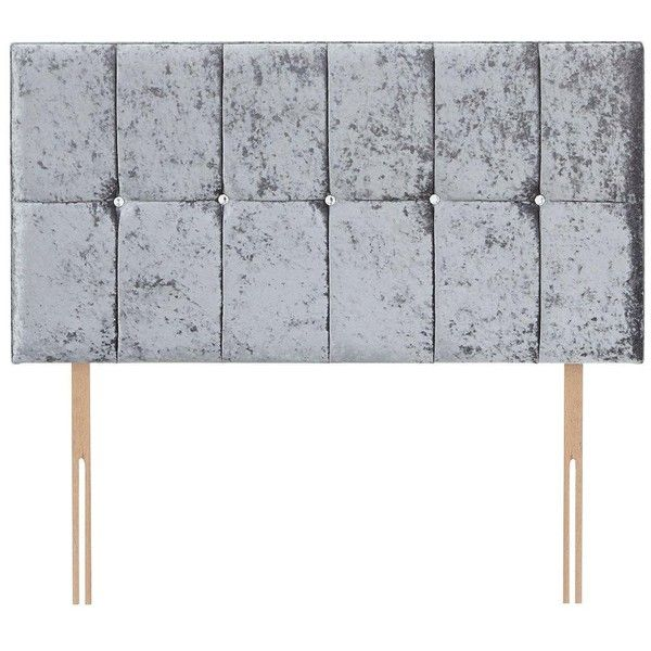 narla diamante fabric headboard 185 liked on polyvore featuring home furniture king size upholstered - Upholstered Headboard King