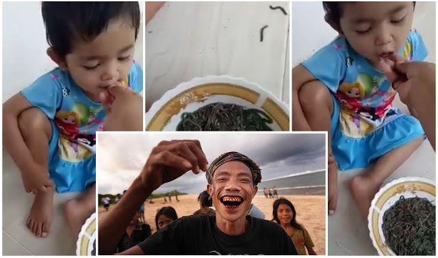 Video & Gambar Suap Budak Makan Cacing Bukan Berlaku Di Malaysia Nyale Makanan Tradisi Masyarakat Lombok   Pagi ini kamimenerima beratus-ratus mesej di mana katanya berlaku kes penganiayaan seorang wanita terhadap seorang kanak-kanak di mana telah disuap cacing.  Video & Gambar Suap Budak Makan Cacing Bukan Berlaku Di Malaysia Nyale Makanan Tradisi Masyarakat Lombok  Berdasarkan percakapan wanita berkenaan tertanya dia berasal daripada negara jiran Indonesia maka ramai yang menyangka ianya…