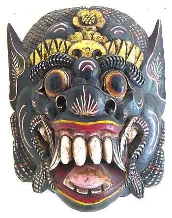 Barong Dance, Balinese Mask