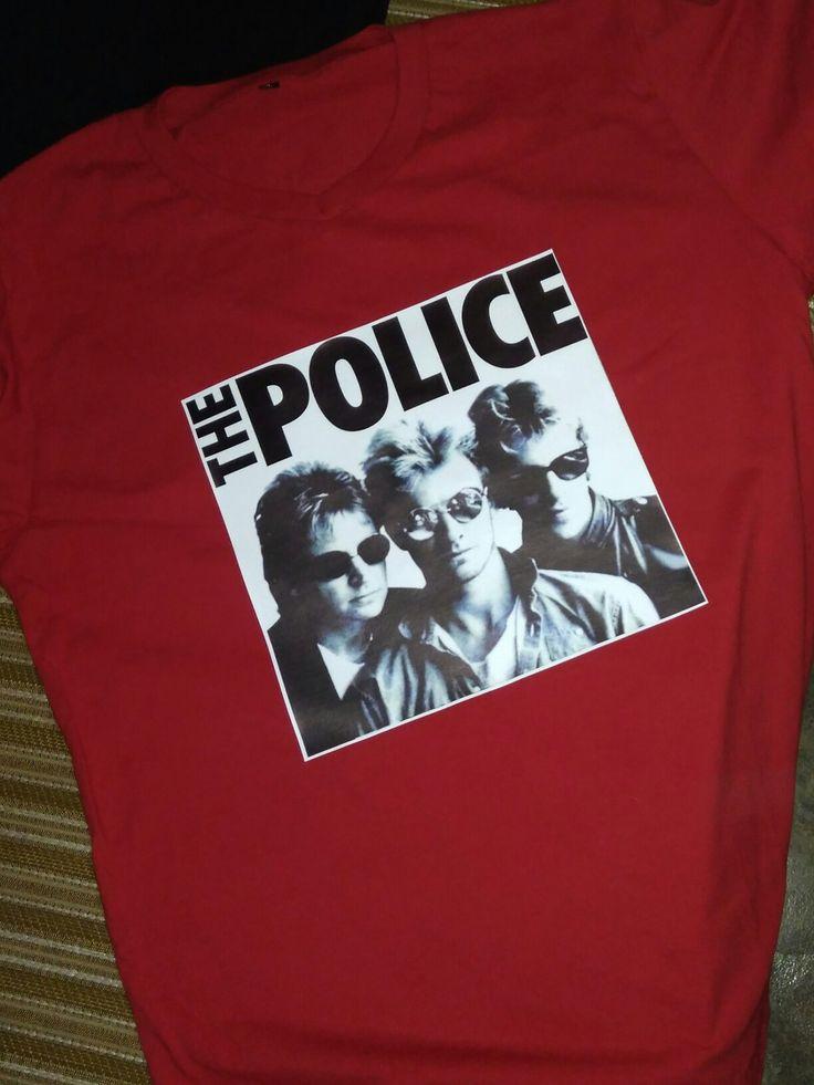 THE POLICE Printable PU RHINOFLEX