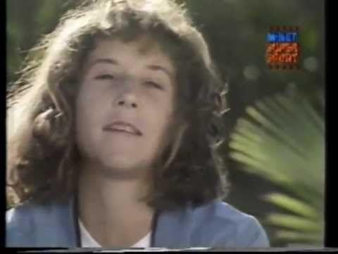 A Young #Monica #Seles