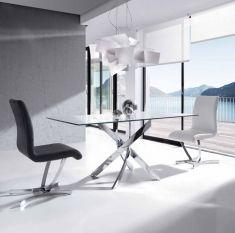 Tavoli Sala da Pranzo in acciaio : Modello F2133EA