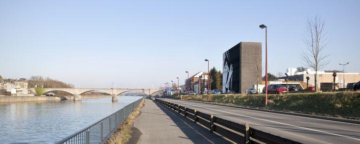 Kulturzentrum Andenne, Label Architecture, bepictures