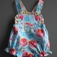 LOVE this! Kathy Davis Studios | Free pattern download Sweet Birdie Romper