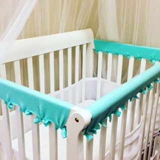 Crib Teething Guard DIY