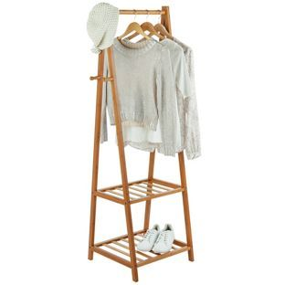 £39.99 Buy Bamboo Clothes Rail - Half Size at Argos.co.uk, visit Argos.co.uk to shop online for Hanging rails
