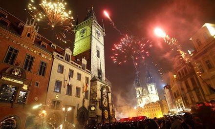 """Nouvel An Prague Nuit Blanche à Paris : Nouvel An """"Nuit Blanche"""" à Prague: #PARIS En promotion à 79.00€. La St Sylvestre dans une ville…"""