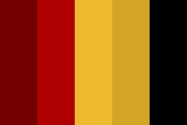 Gryffindor Color Palette - Site has user submitted color palettes in hexicolor and rgb.