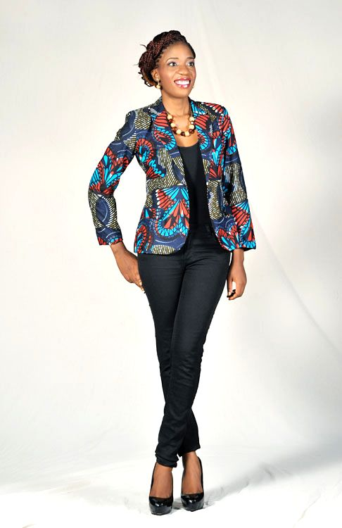 Love the #Ankara Blazer! ~Latest African Fashion, African women dresses, African Prints, African clothing jackets, African men's fashion, children's fashion, African bags, African shoes ~DKK