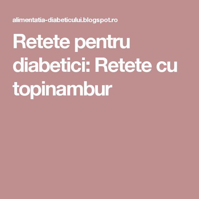 Retete pentru diabetici: Retete cu topinambur